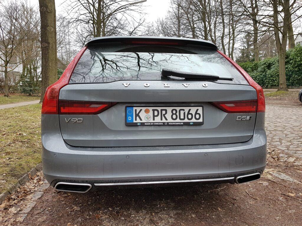Volvo V90 Heck