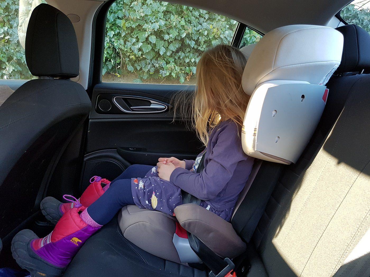 Alfa Romeo Giulia Kindersitz