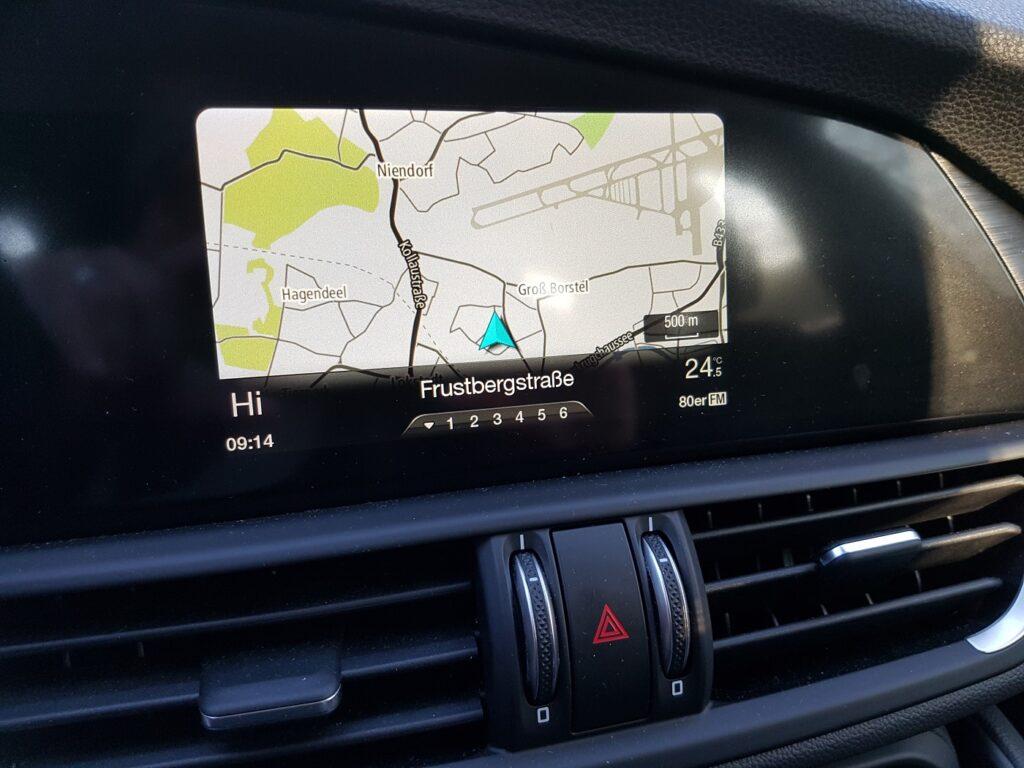 Alfa Romeo Giulia Navigation