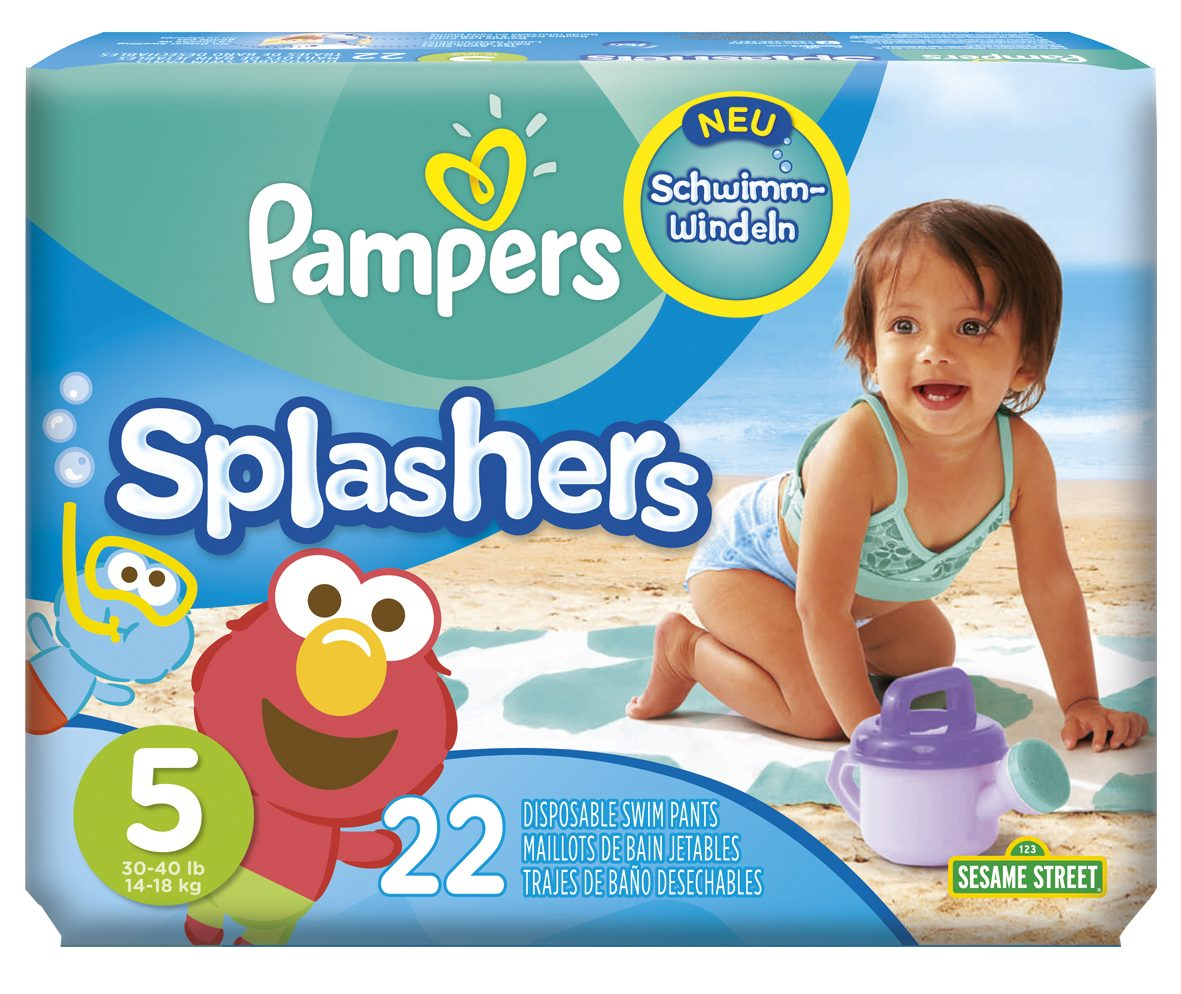 Pampers Splashers Packshot