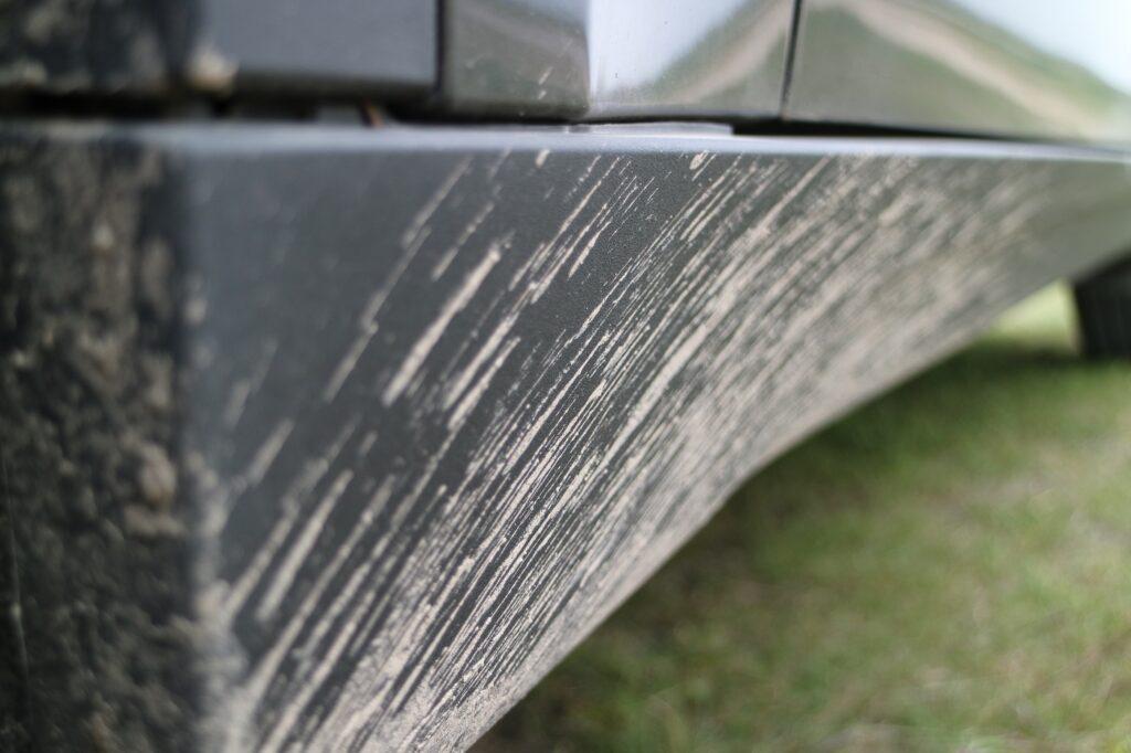 BMW X5 Familienauto Dreck