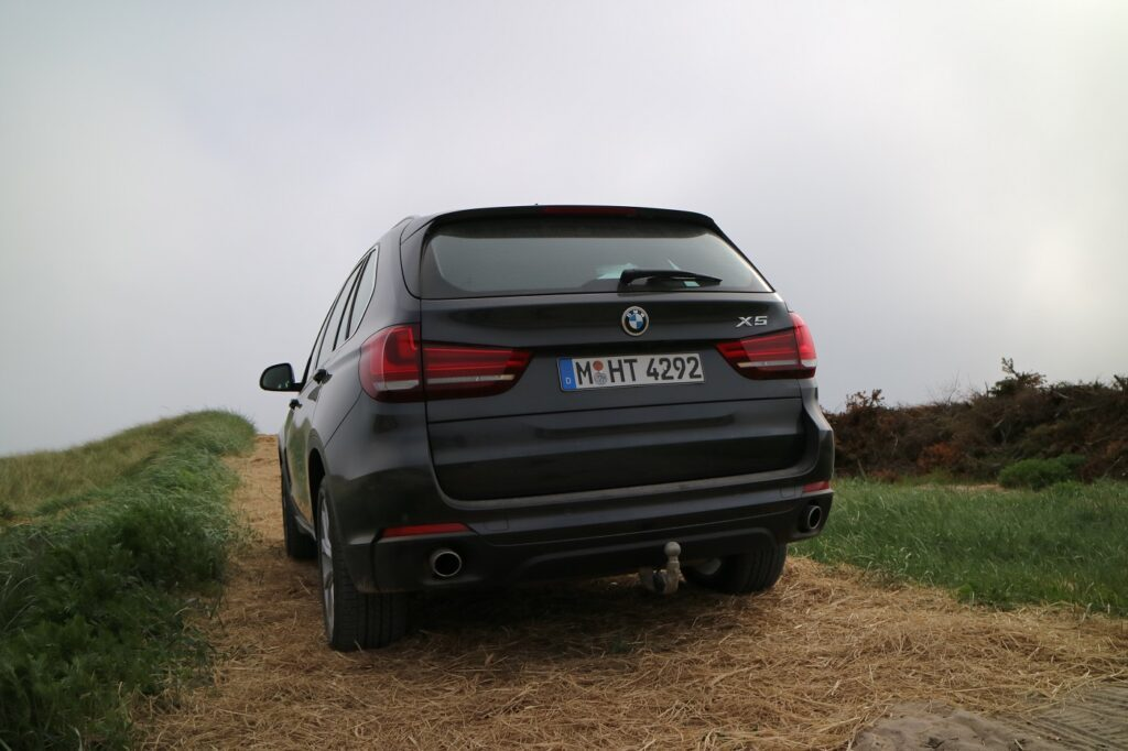 BMW X5 Familienauto Heck
