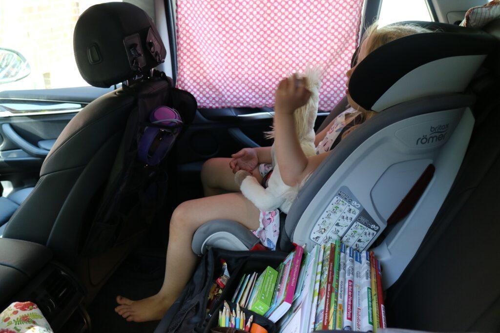 BMW X5 Familienauto Kindersitz