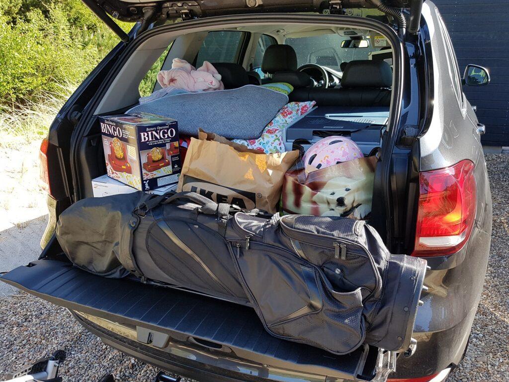 BMW X5 Familienauto Kofferraum
