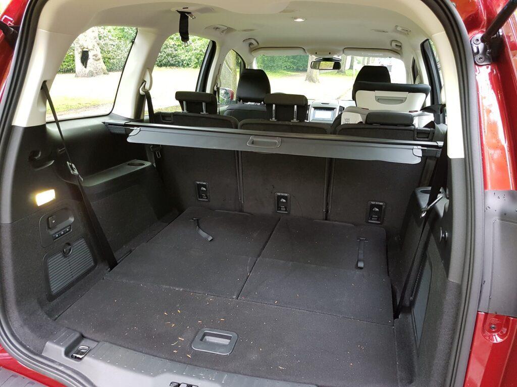 Ford Galaxy Kofferraum