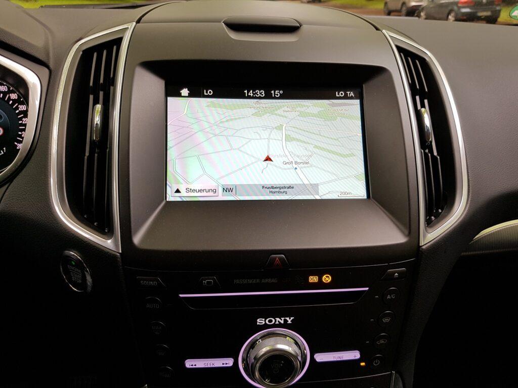 Ford Galaxy Navigation