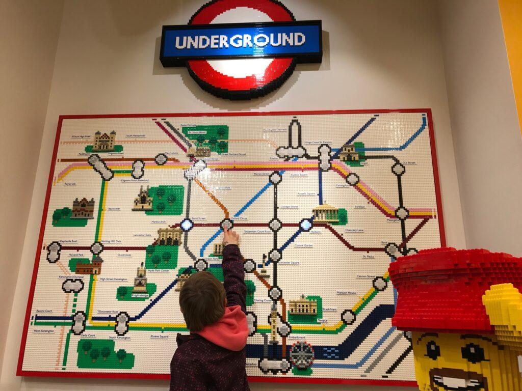 In London ist man am besten im Untergrund unterwegs