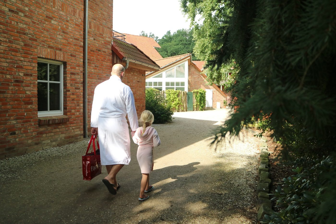 Landhaus Averbeck Papa und Tochter