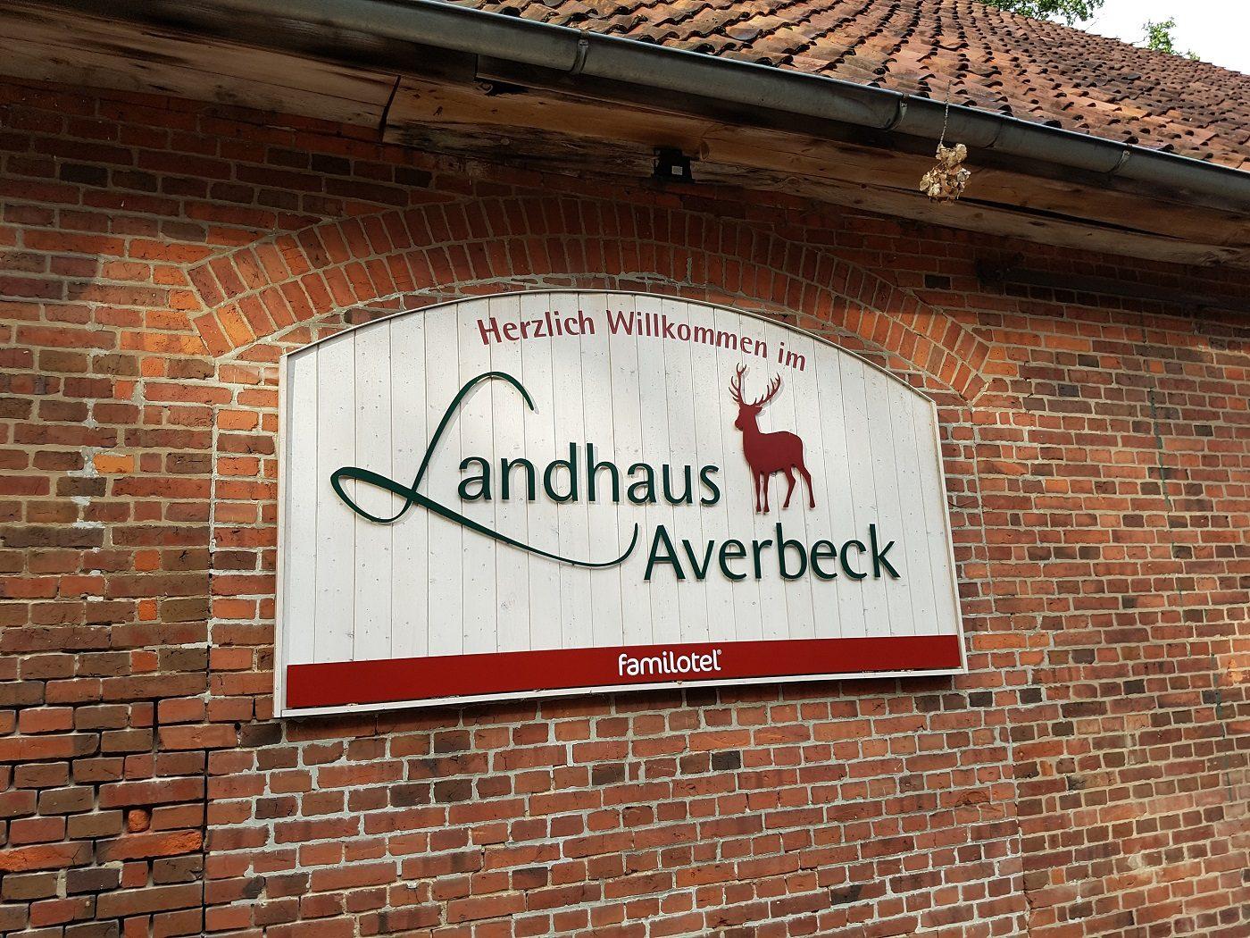 Landhaus Averbeck Schild