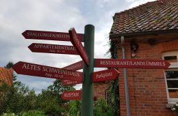 Landhaus Averbeck Wegweiser