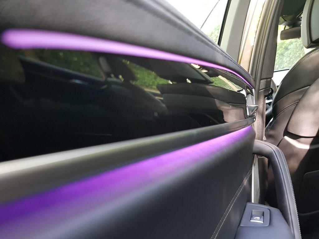 BMW 530i Touring Familienauto Ambientelicht