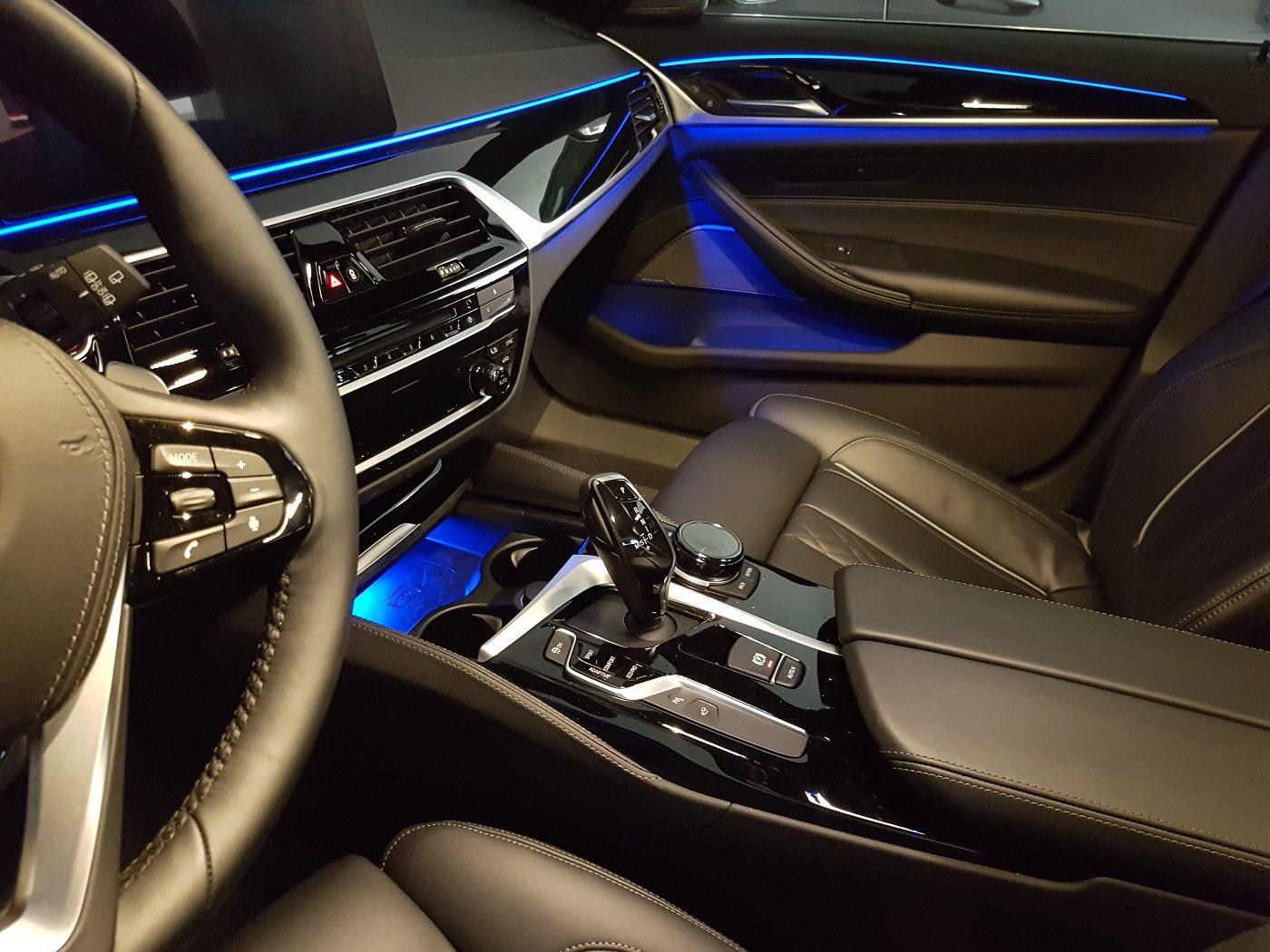 BMW 530i Touring Familienauto Interieur