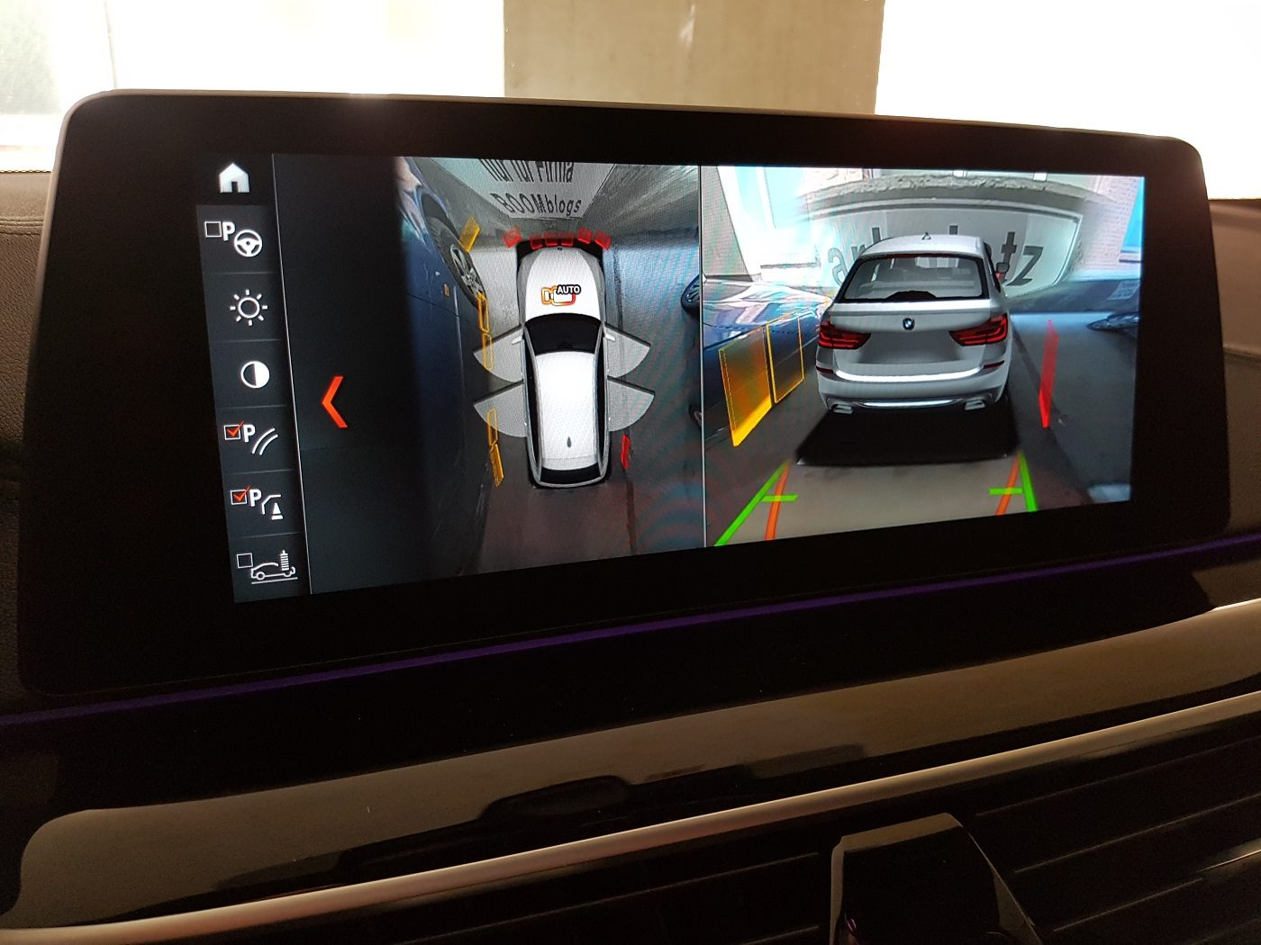 BMW 530i Touring Familienauto Kameras