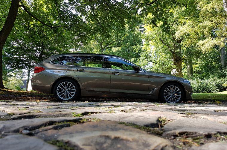 BMW 530i Touring Familienauto Seitenansicht