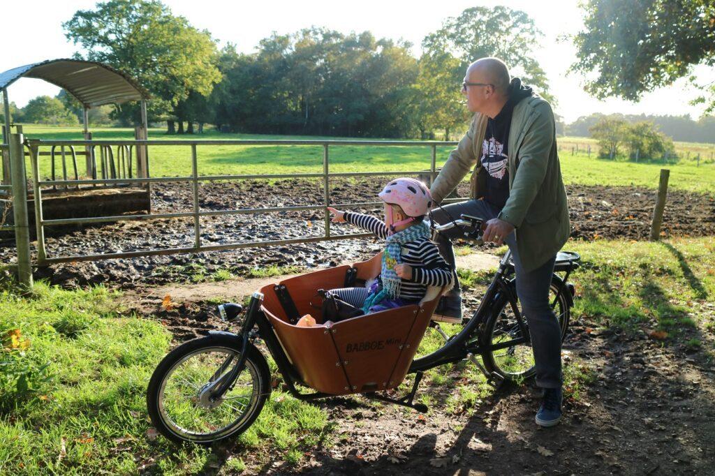 Babboe Mini-E Lastenrad Fahrradtour