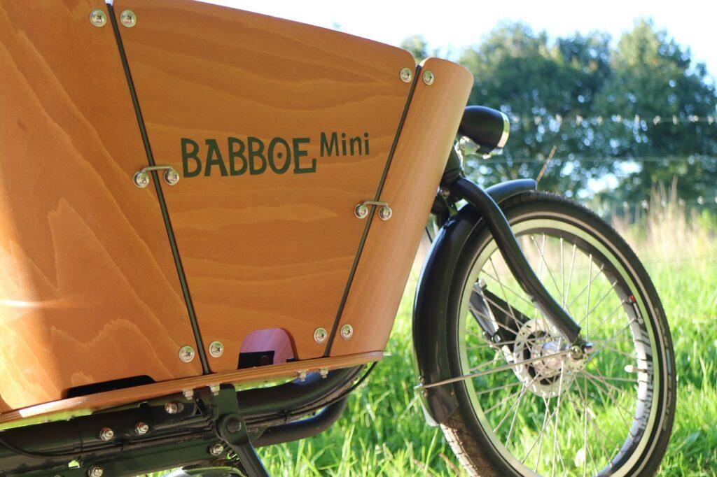 Babboe Mini-E Lastenrad Front