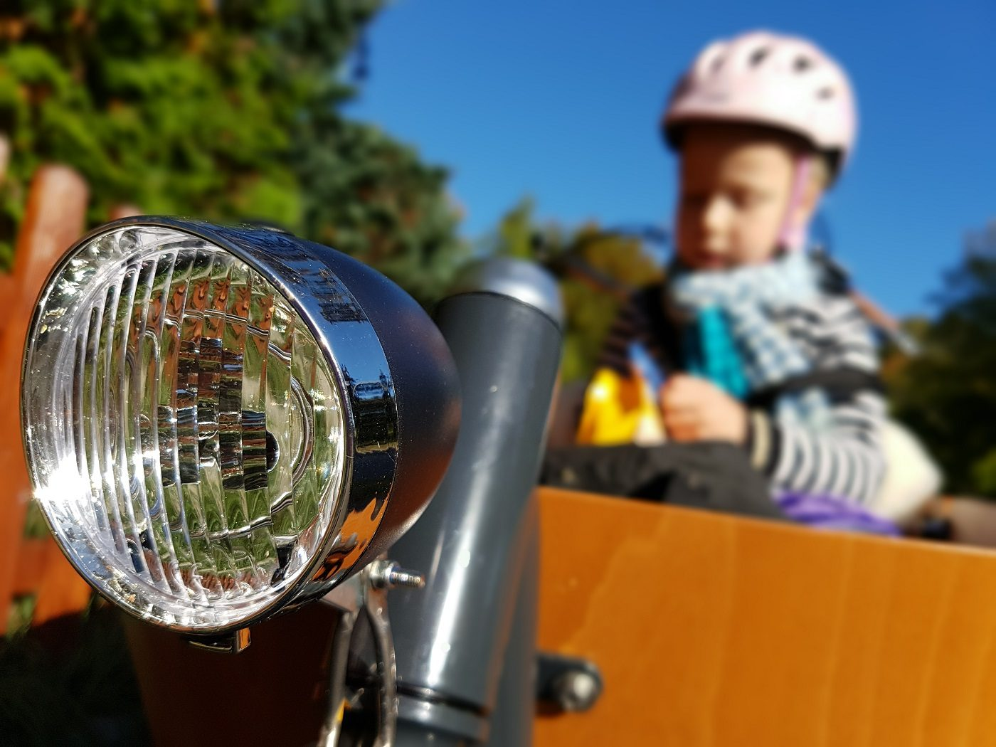 Babboe Mini-E Lastenrad Kind