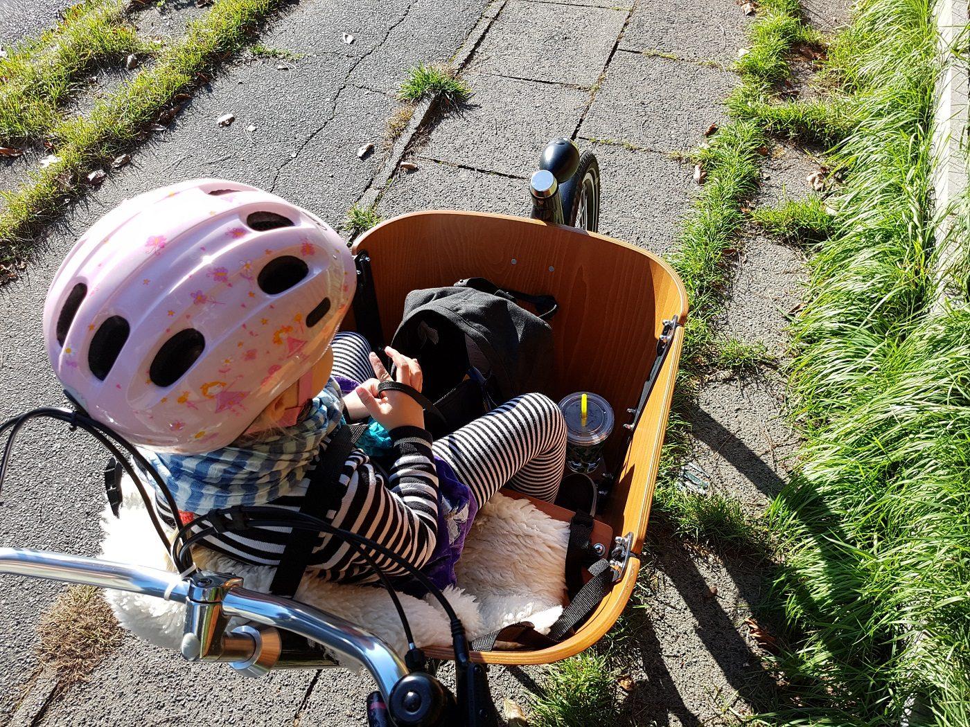 Babboe Mini-E Lastenrad Sitzschale
