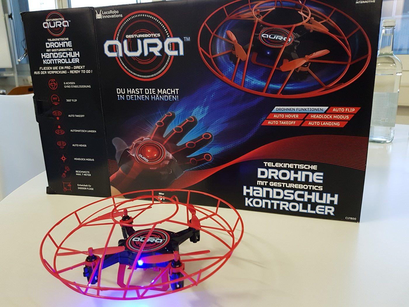 Aura gestengesteuerte Drohne Paket