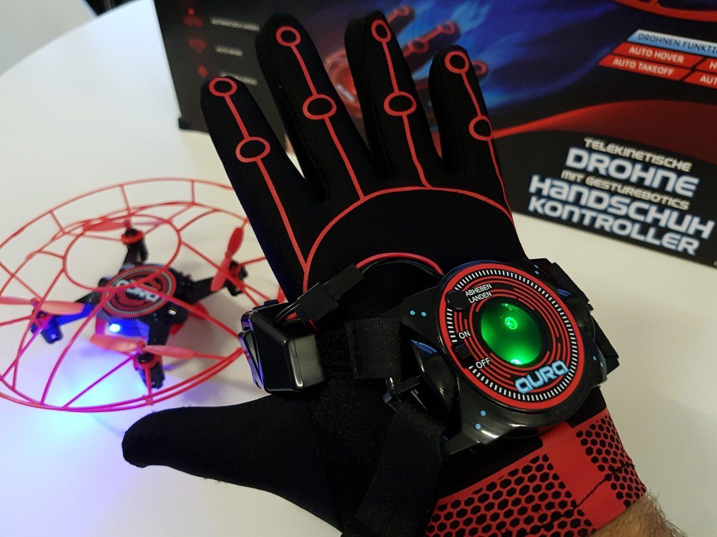 Aura gestengesteuerte Drohne Set