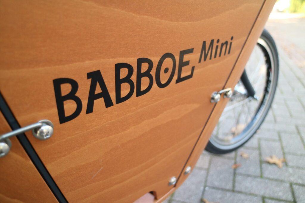 Babboe Mini-E Lastenrad Transportbox