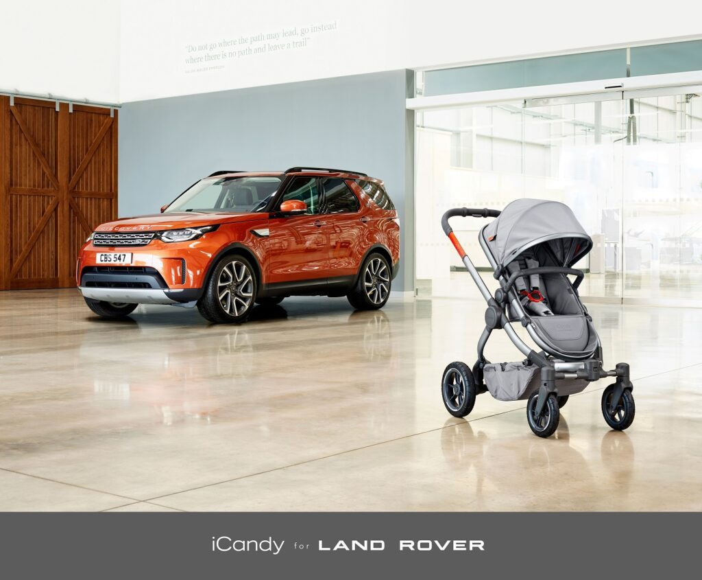 icandy for landrover peach all terrain