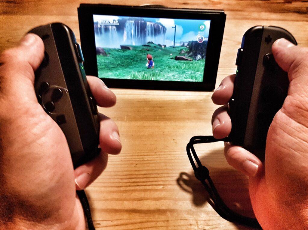 Nintendo Switch Tischmodus