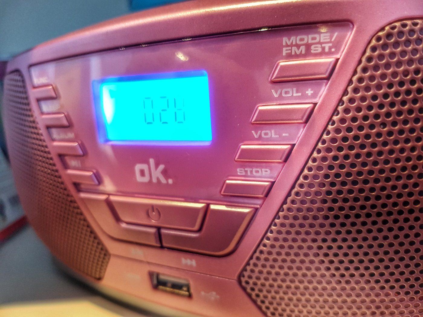 OK. ORC311 -Radiorecorder, Rosa