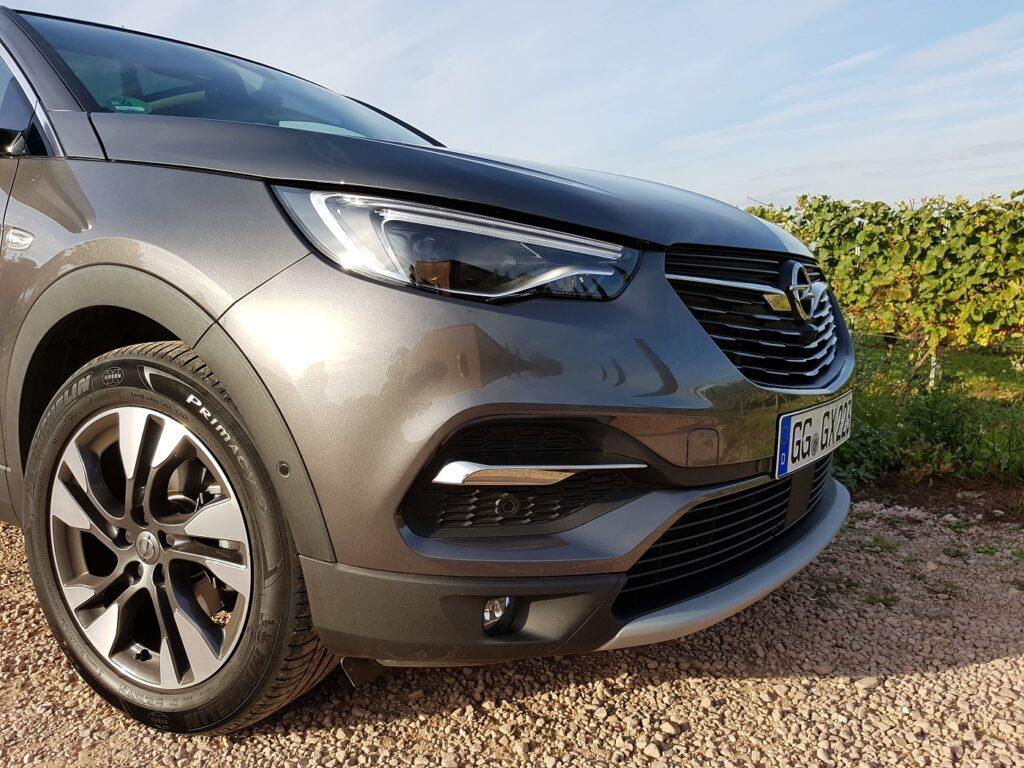 Opel Grandland X Seitenansicht