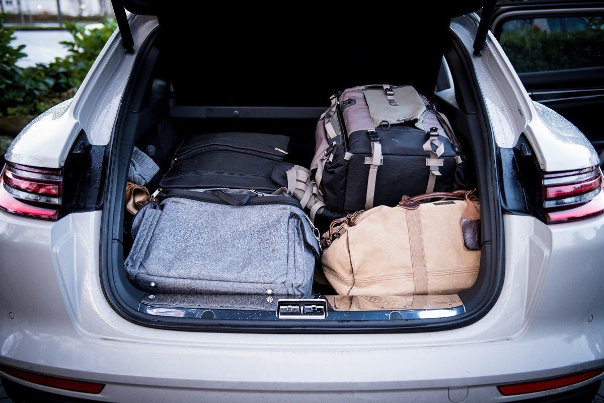 porsche panamera turbo sport turismo kofferraum