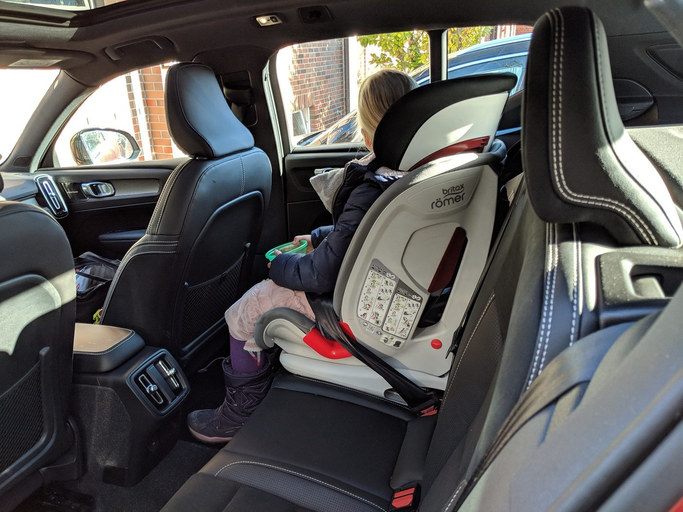 Volvo XC40 Kindersitz
