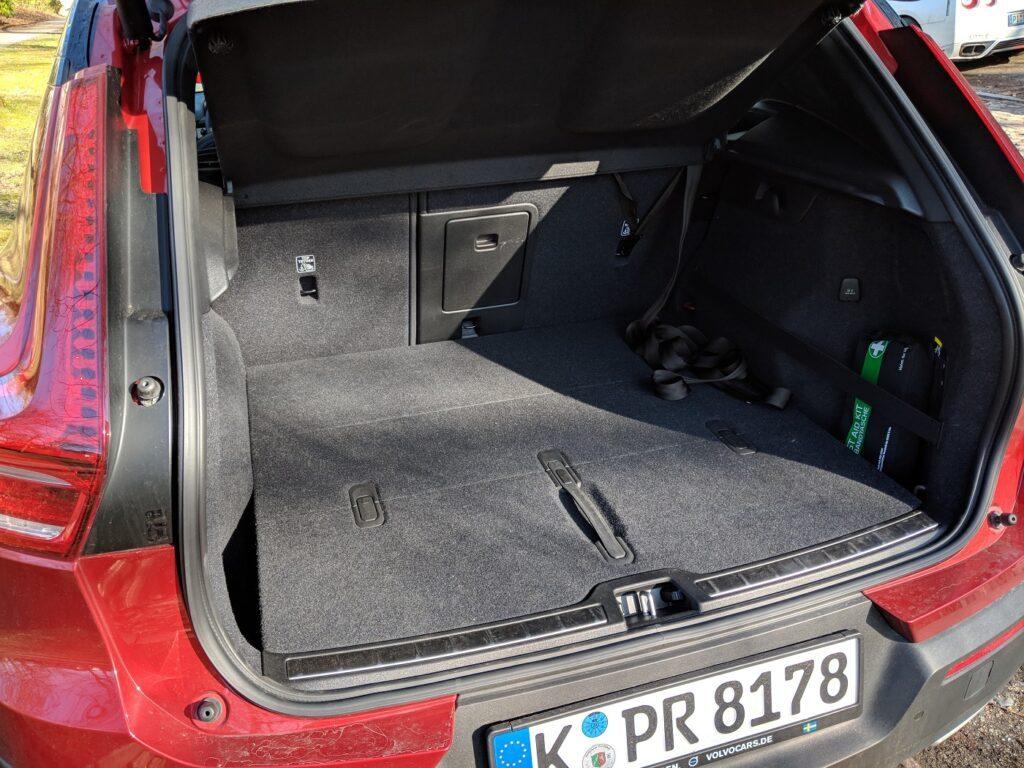 Volvo XC40 Kofferraum