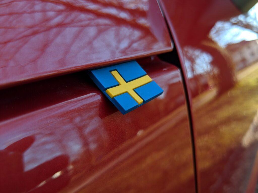 Volvo XC40 Fahne