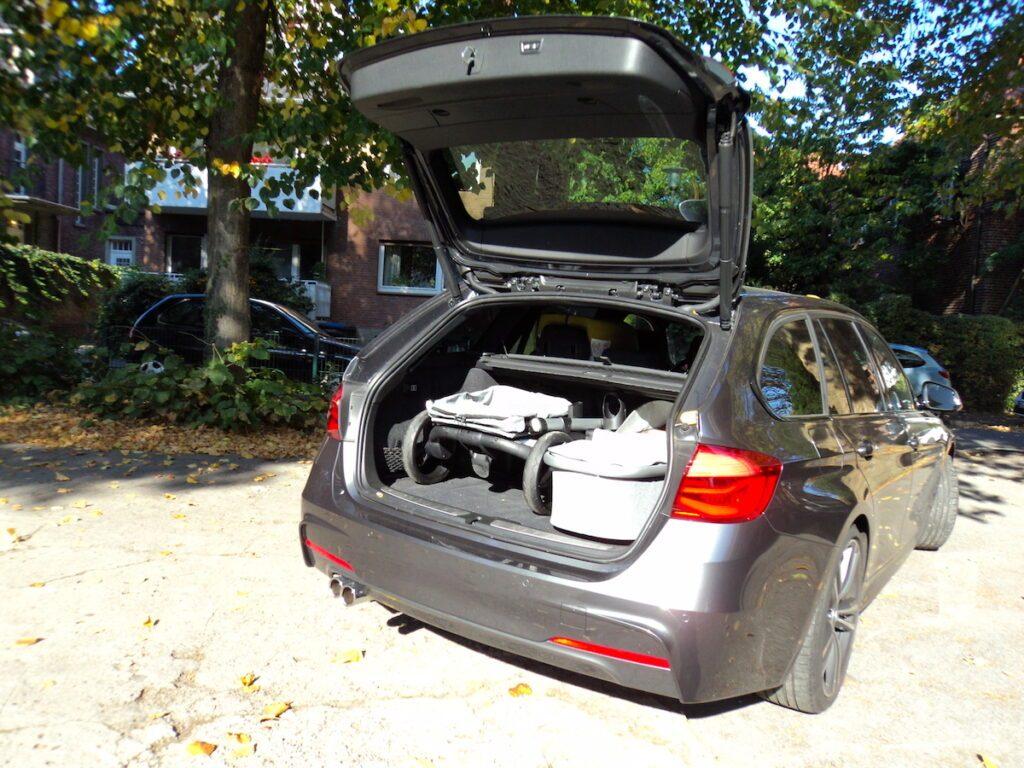 bonavi kinderwagen kofferraum