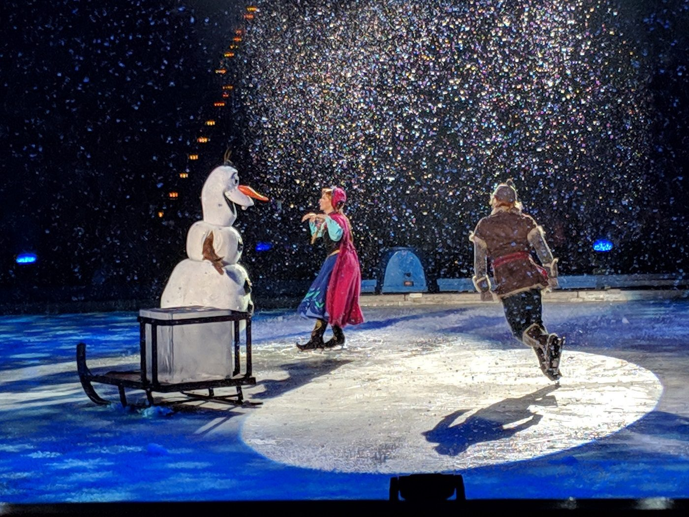 Disney on Ice Anna Elsa
