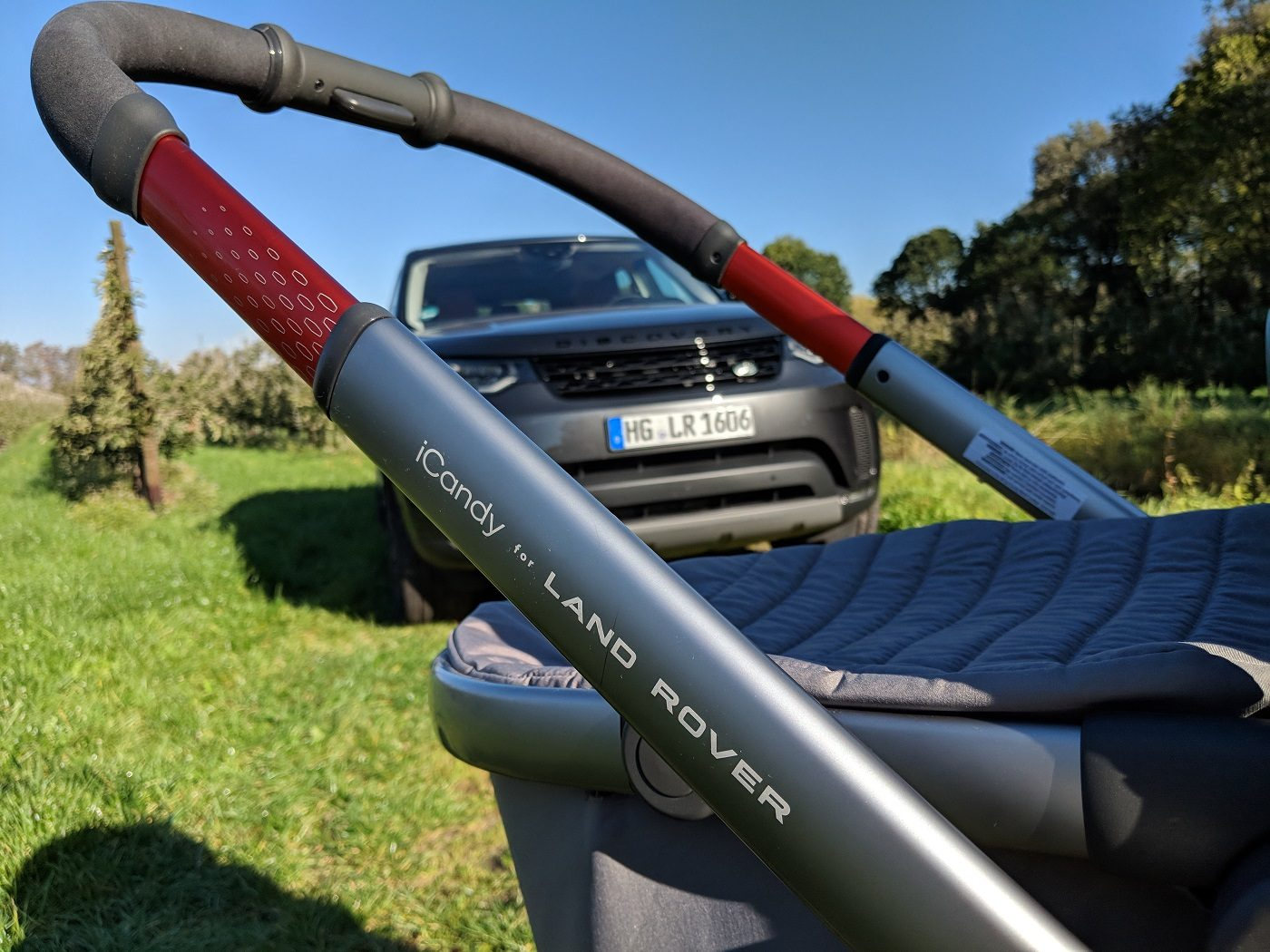 iCandy for Land Rover Kinderwagen