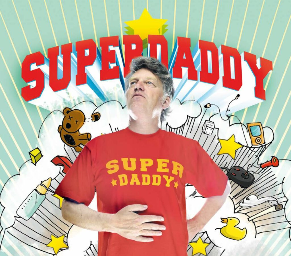 SUPERDADDY A3 ROTES HEMD