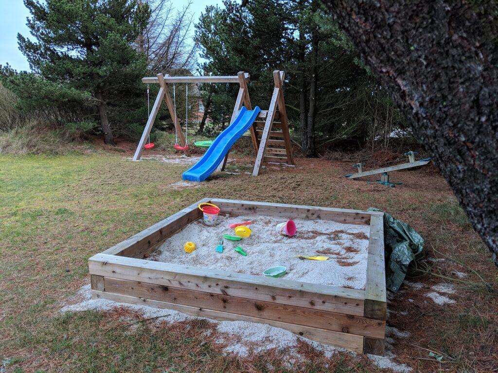 Blavand Ferienhaus Spielplatz