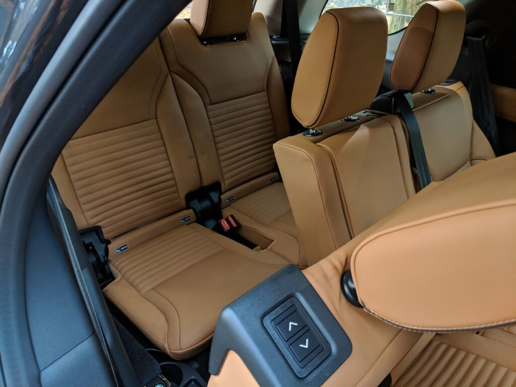 Land Rover Discovery 2018 Dritte Sitzreihe