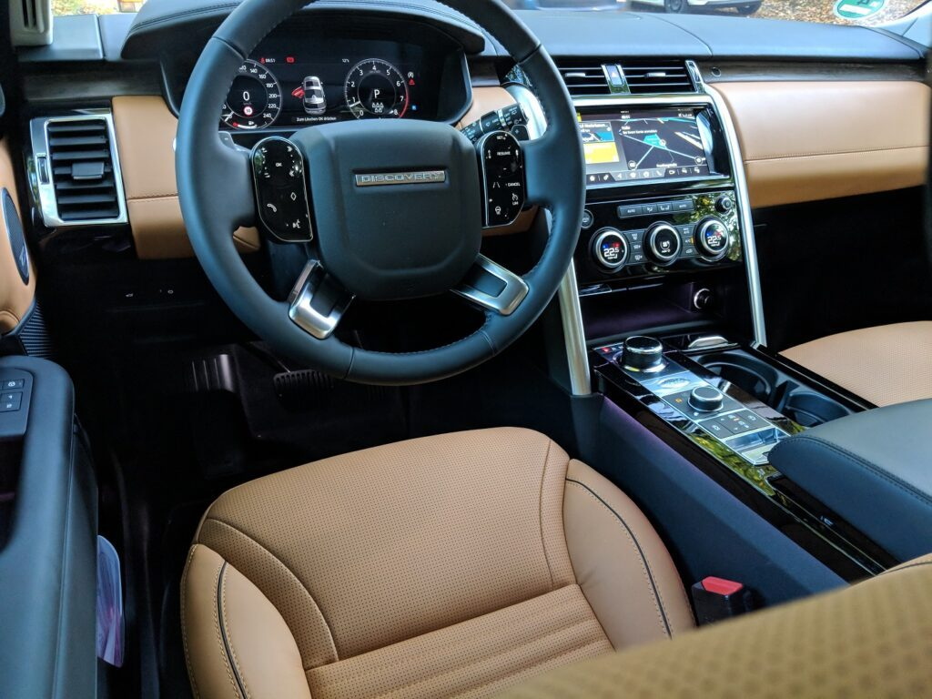 Land Rover Discovery 2018 Fahrersitz