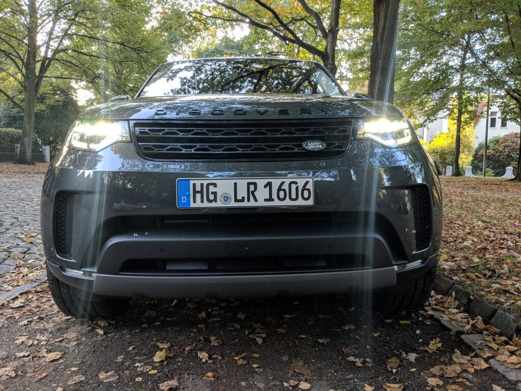 Land Rover Discovery 2018 Front