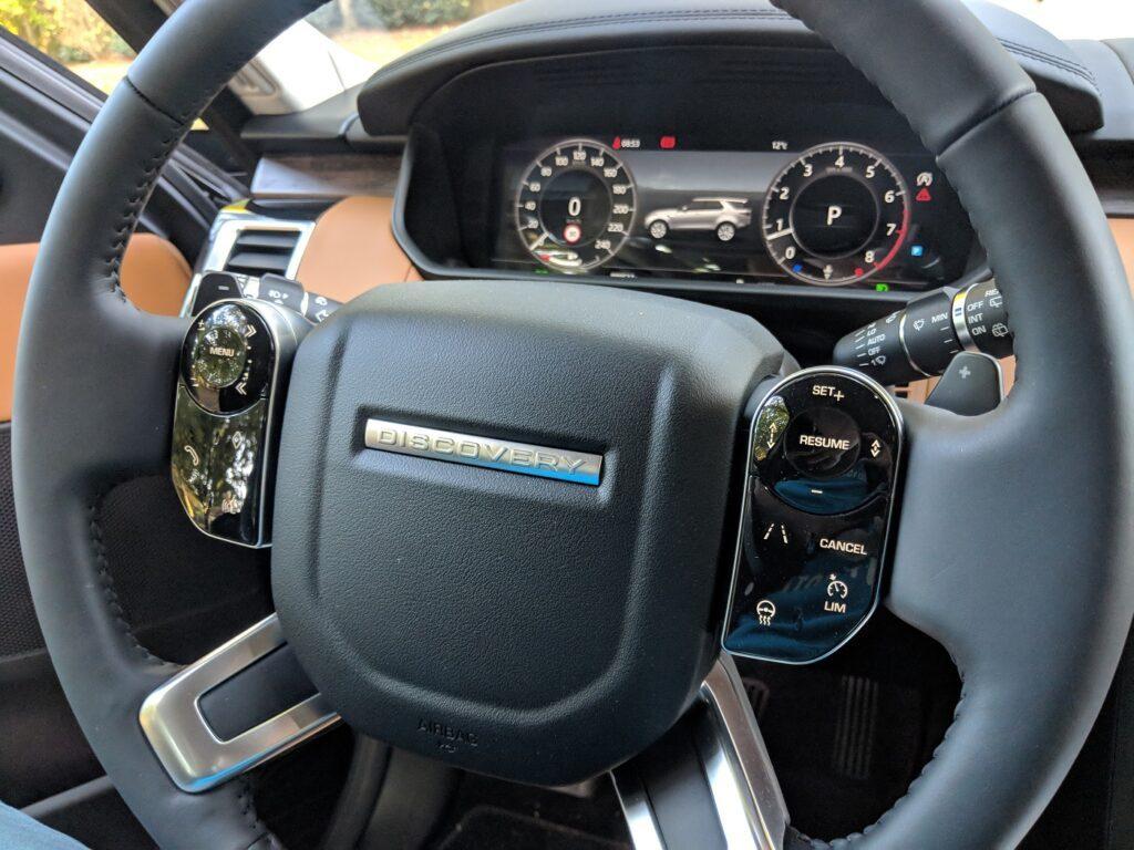 Land Rover Discovery 2018 Lenkrad