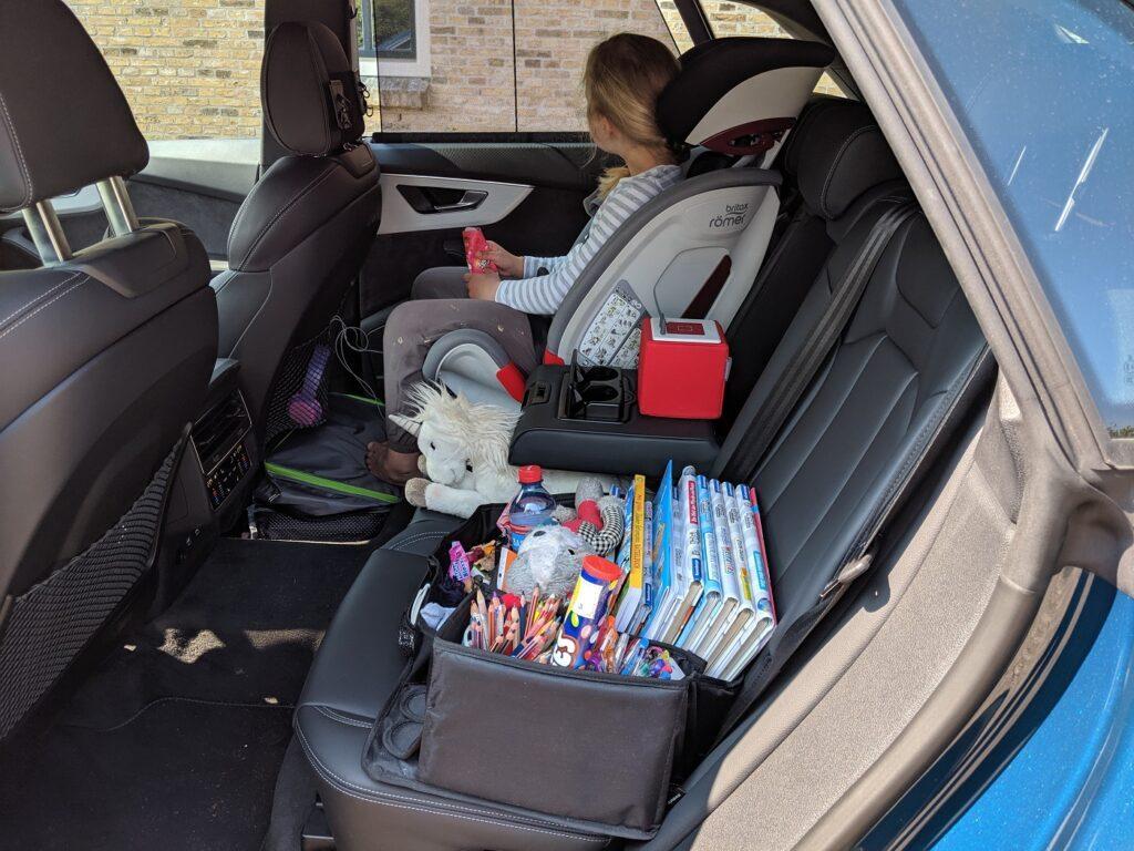 Audi Q8 Kindersitz