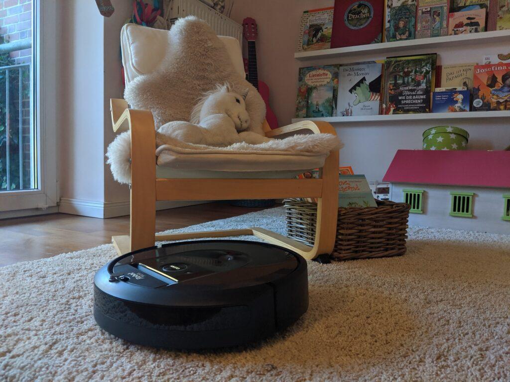 iRobot roomba i7 teppich