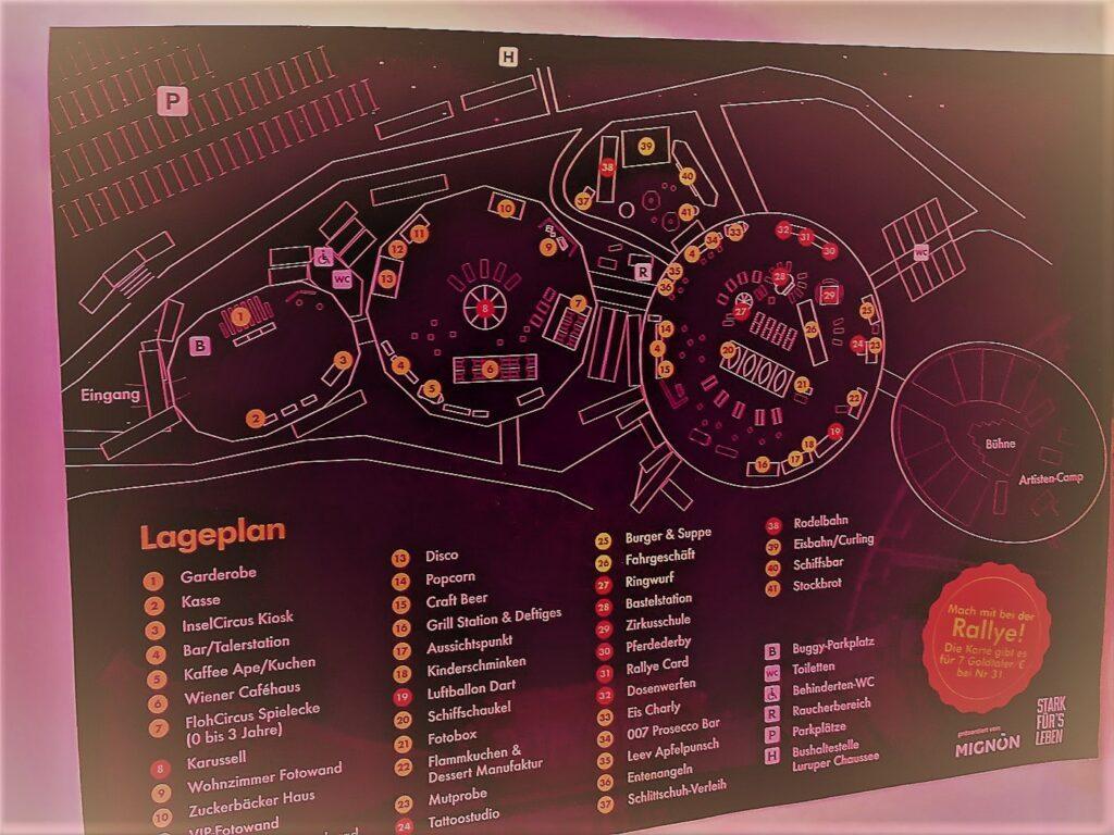 Winterspektakel Hamburg Lageplan Kuppel