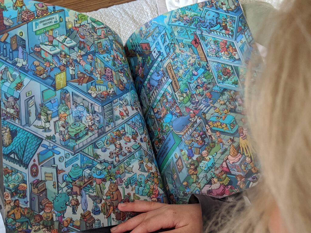 wonderbly wimmelbuch wimmelbild