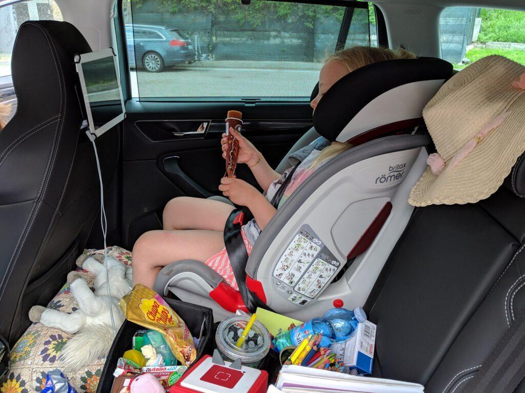 Kindersitz im Škoda Kodiaq