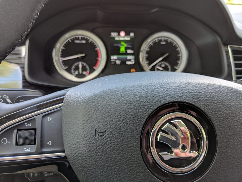 Škoda Kodiaq Lenkrad