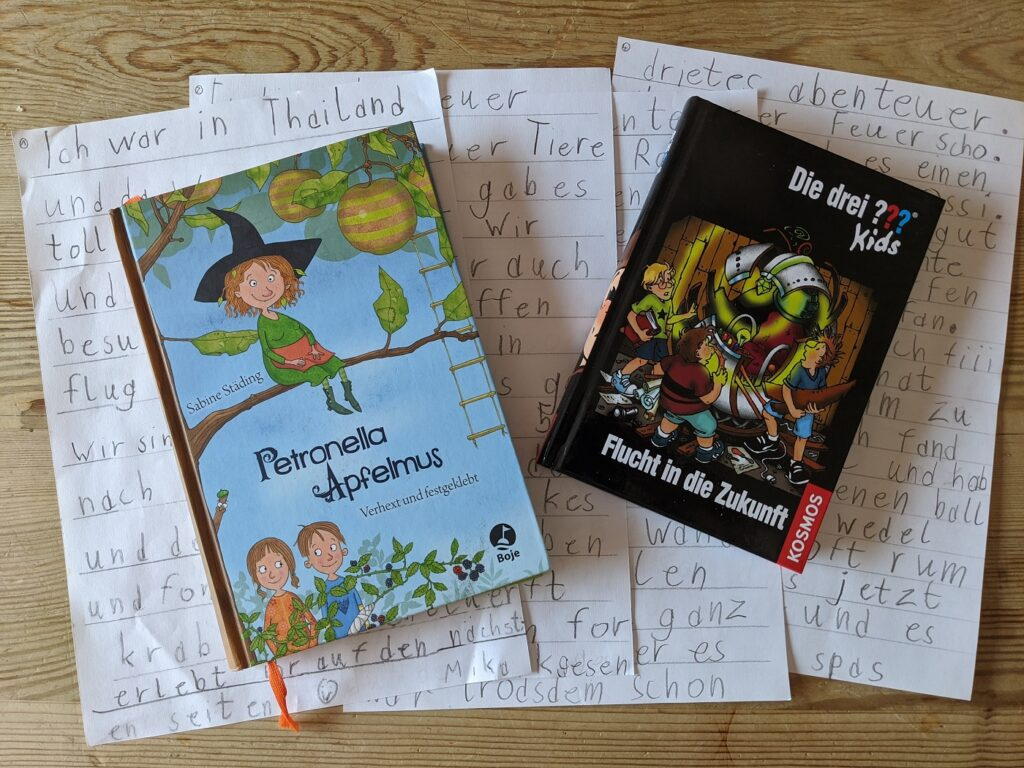 homeschooling lesen und schreiben