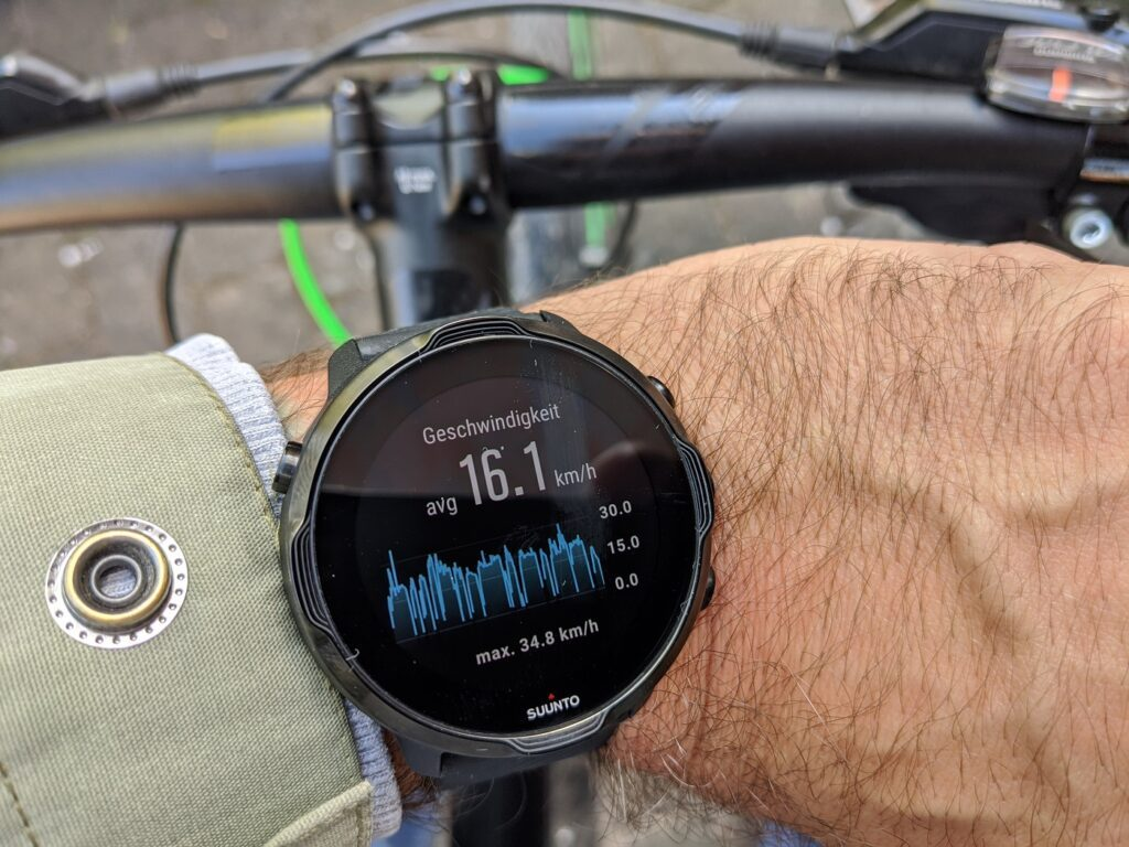 Suunto 7 Tracking Bike